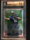 Andrew Luck 2012 Topps Chrome #1 RC Prism Refractor Auto #48 50