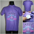 REUSCH VINTAGE Cycling Jersey Bike T shirt Size LARGE