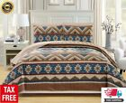 Comforter Bedding Set Queen Size Bed in a Bag Native American Southwest 6 pieces