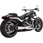 Vance  Hines 16545 Harley Davidson Exhaust High Output 2 1 Chrome Breakout