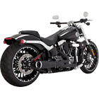 Vance  Hines 46545 Harley Davidson Exhaust High Output 2 1 Black Breakout