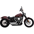 Vance  Hines 17233 HD Exhaust Chrome Shortshots Staggered 2018 Soft Tail