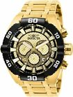 Invicta Coalition Forces 27256 Men's 50mm Gold Stainless Chronograph Watch