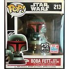 Funko POP! Star Wars Boba Fett with Slave One Exclusive Vinyl Bobble Head 213