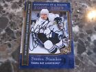 STEVEN STAMKOS AUTO AUTOGRAPHED TAMPA BAY LIGHTNING CARD FULL NAME SIGNATURE****