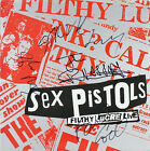 Sex Pistols (4) Signed Filthy LuCRE Live Album Cover W/ Vinyl BAS #A57209