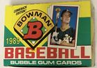 1989 Bowman Baseball Hobby Box 36 Pack Gem Original FASC