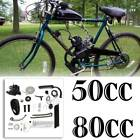 Bike DIY 50cc 80cc Engine Motor Full Set 2 Stroke Petrol Gas Motorized Engine