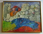 Z Charlotte Sherman ABSTRACT PAINTING EXPRESSIONISM COLORFUL MODERNISM CHUNKY