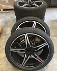 19x10 19x85 ASTON MARTIN DB9 SPEEDLINE GENUINE OEM DIAMOND WHEELS SET W O TIRES