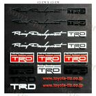 14pc Reflective Decal Sticker Set Window Vinyl Fit Auto For JDM TRD Sport New