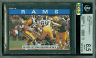 1985 TOPPS LOA # 77 ERIC DICKERSON TL HOFer PROOF BGS 8.5 SOLO FINEST GRADED
