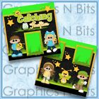 CATCHING FIREFLIES Printed Premade Scrapbook 2 Page Layout
