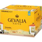 Gevalia Colombian Medium Roast Coffee Keurig K Cup Pods 100 Count