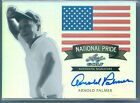 ARNOLD PALMER 2011 LEAF GOLF NATIONAL PRIDE REFRACTOR AUTO AUTOGRAPH SP 25