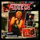 ACCEPT - ALL AREAS-WORLDWIDE (LIVE 2CD) 2 CD Like NEW+mint