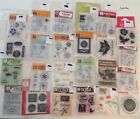 LOTC NEW 24 SETS CLEAR STAMPS MANY DESIGNS CARDMAKER JUNK JOURNAL SCRAPBOOKING