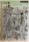 Penny Black Christmas Fashion Transparent cling stamp 2q111111wset
