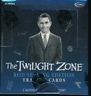 2 BOX LOT 2019 RITTENHOUSE THE TWILIGHT ZONE ROD STERLING EDITION SEALED HOBBY