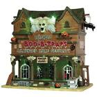 Lemax Halloween ~ Banshee's Boo-B-Traps Lighted Village Building ~ Spooky Town