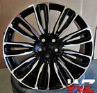 22x95 5x120 WHEELS FIT RANGE ROVER SPORT HSE LAND ROVER LR3 LR4 SET 22 IN RIMS