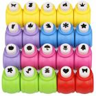 Kattool Paper Punches Set Mini Crafting Paper Punch Crafts Puncher Image Hole