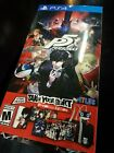 Persona 5 Take Your Heart Premium Edition Sony PlayStation 4 PS4 Excellent