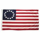 Betsy Ross Flag 3x5 Polyester USA American 13 Star Indoor Outdoor Flag America