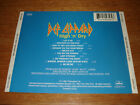 BACK TRAY CARD ONLY Def Leppard High 'n' Dry
