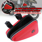 Red Motorcycle Saddle Storage Bag Engine Guard Mount Case Pouch For BMW R1200GS