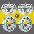 4Pcs 5x45 to 5x5 125 Adapters Wheel Spacers For Jeep Wrangler Ford Mustang