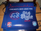 Old Style Beer Dual Brand Cubs Pennant Strings Banner Beer Sign NOS 2012