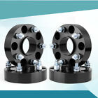 415 Black Wheel Spacers 5x5 to 5x5 For Jeep Wrangler JK Rubicon HubCentric
