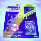 1992 Starting Lineup Figure SLU MLB Steve Avery Atlanta Braves Extended w/Poster