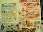 PAPER CRAFT INSPIRATION 122  BOOK AND GIFT  BUILD AN OWL STAMPS 2 DIES