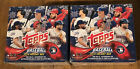 2018 Topps Holiday Factory Sealed Box Lot of 2 Acuna Ohtani Torres
