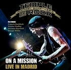 On a Mission: Live in Madrid by Michael Schenker's Temple of Rock 2 X Cd 2016
