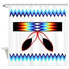 CafePress NATIVE PRIDE Decorative Fabric Shower Curtain 69x70 757049581