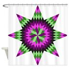 CafePress Native Stars Decorative Fabric Shower Curtain 69x70 1590181250