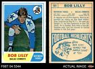 1968 Topps Football Cards 11
