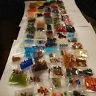 WHOLESALE LOT 25 BAGS JEWELRY MAKING GLASS GEMSTONE PEARL 5000 BEADS 500 gram +