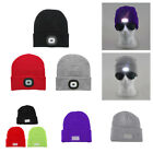 4/5 LED Flash Knitted Cap 3 Modes Unisex Outdoor Fishing Lighted Beanies Hat Cap