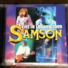 SAMSON Samson LIVE IN LONDON 2000 Rare Limited Good condition Genuine Japan