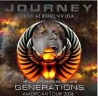 Journey / Generations Live At Reno NV USA 2006 Jeff Scott Soto 2CD ORG NEW HR200