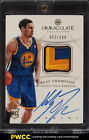 2012 Immaculate Collection Klay Thompson ROOKIE RC AUTO 2-CLR PATCH 100 (PWCC)