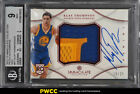 2012 Immaculate Collection Red Klay Thompson RC AUTO PATCH 25 BGS 9 MINT (PWCC)