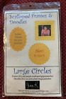 Gina K unmounted rubber set Scalloped frames and Doodles