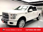 2017 Ford F-150 Limited Texas Direct Auto 2017 Limited Used Turbo 3.5L V6 24V Automatic 4WD Pickup Truck