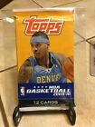 2009-10 TOPPS Basketball Factory Sealed Pack 12 Cards Curry Harden RC ? RARE!