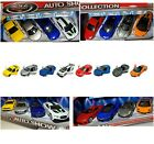 8 Pack AUTO SHOW COLLECTION DIECAST METAL CARS